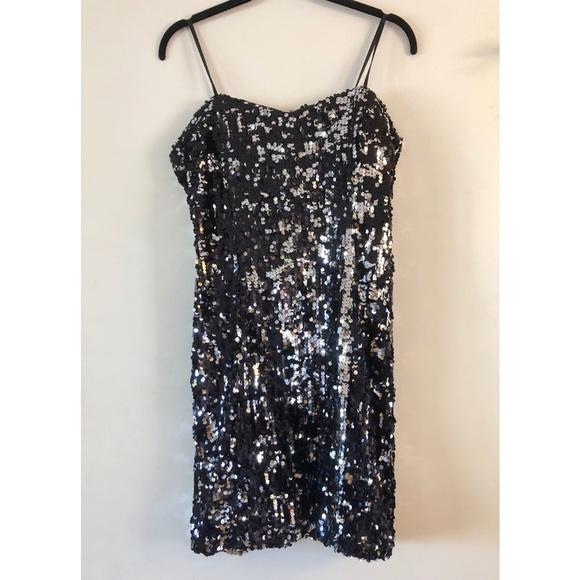 City Studio Dresses & Skirts - Strapless Juniors Sequined Dress
